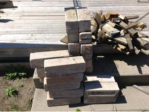 FREE: used bricks