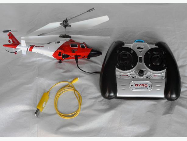 RC helicopter model, indoors / outdoors + accessories + parts.