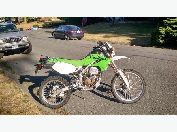 2007 Kawasaki KLX250S Mint