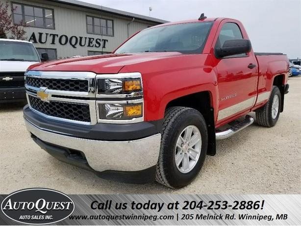 2015 Chevrolet Silverado 1500 LS - 4x4, BLUETOOTH, CRUISE, FACTORY WARRANTY!