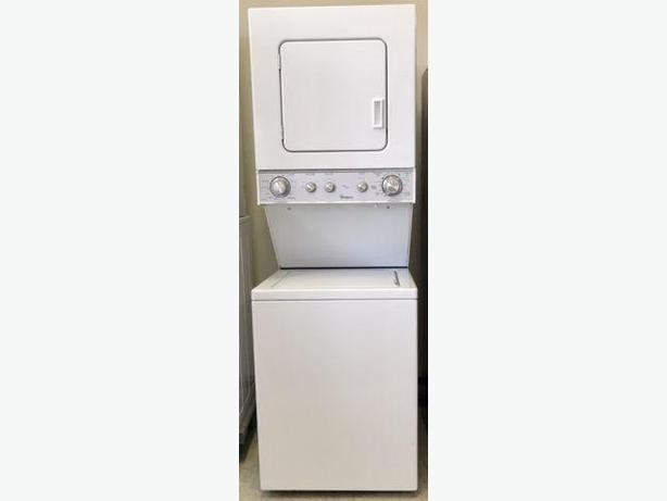 Compact Whirlpool Laundry Stacker
