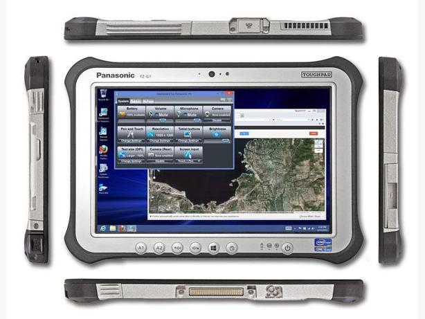 Panasonic ToughPad FZG1 Factory Demo Tablet with Hand-Strap