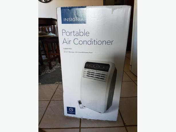 brand new insignia 8000btu portable air conditioner