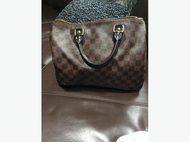 100% Real Louis Vuitton speedy bag