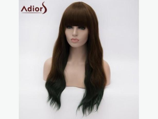 colourmix synthetic wig, burgundy synthetic wig
