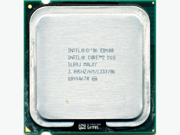 Intel E8400 3Ghz Duo-Core Processor&4Gb DDR3 (2x2Gb) desktop ram