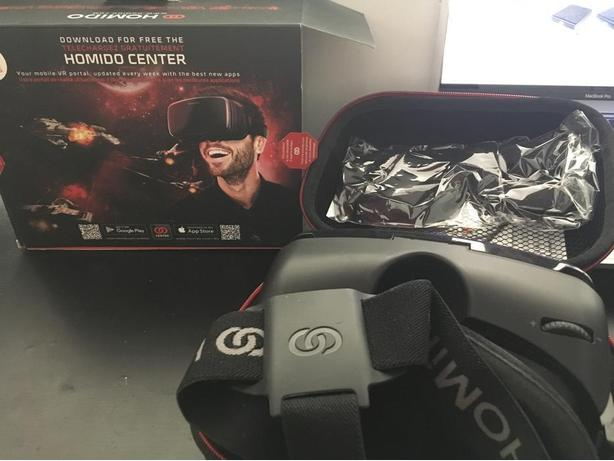 Homido V2 VR Headset Almost brand new