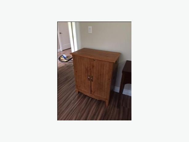 VHS or CD cabinet