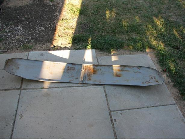 Old Chevy Sun Visor ( Reduced to half price )