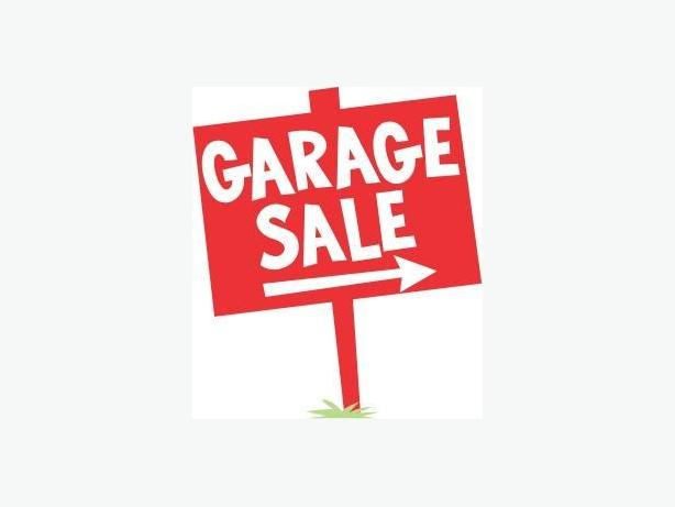 Garage Sale Saturday August 12 from 9-4 pm