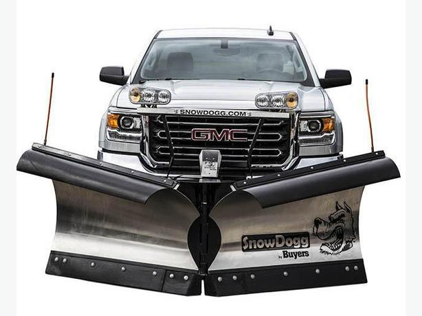Snowplow and Sanders Snowdogg