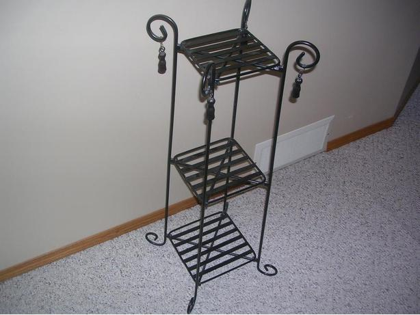 Decorative metal stand