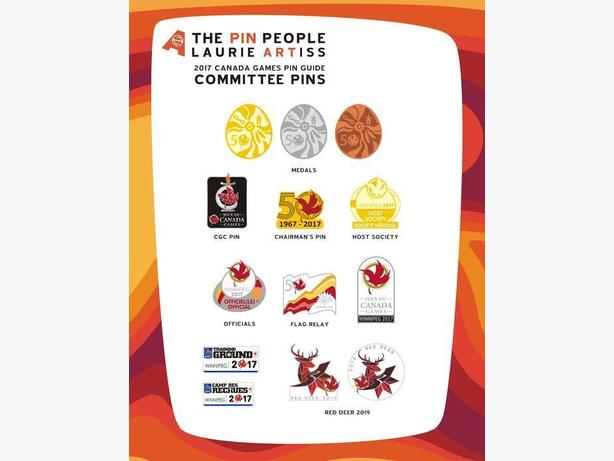WANTED: Canada Summer Games 2017 Pins from Winnipeg