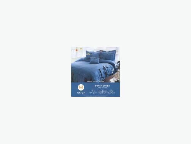 2 Twin Bed Denim Duvet covers