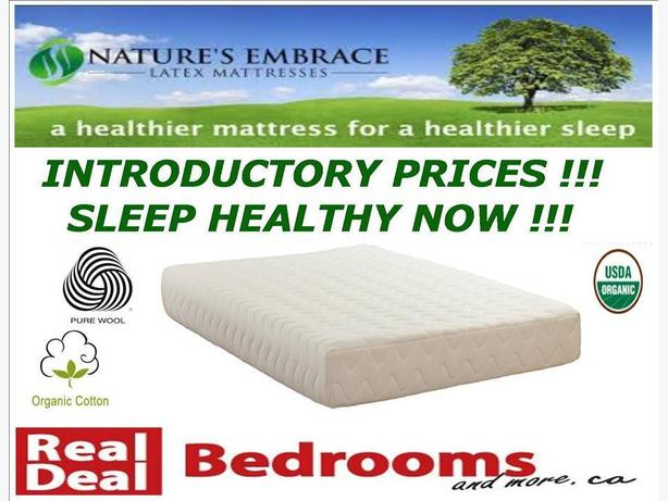 LOCALLY MADE ORGANIC MATTRESSES ON SALE NOW !!! Victoria