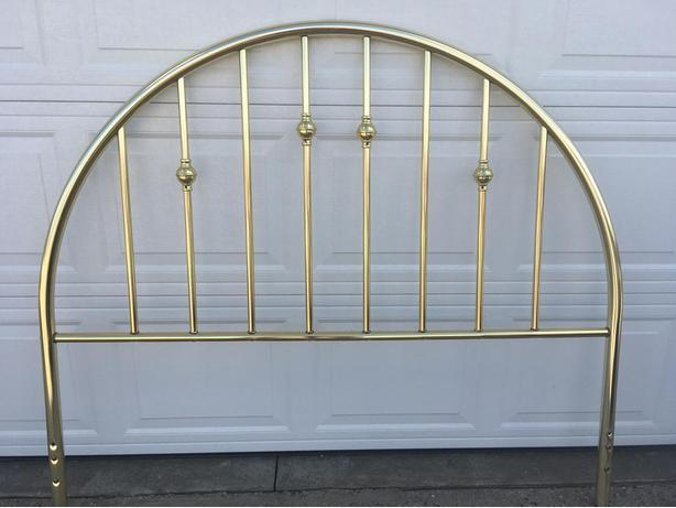 Brass headboard - queen size
