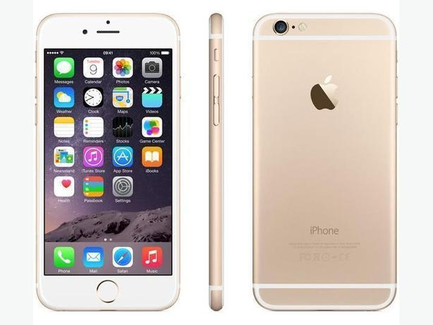 Apple iPhone 6S, 16GB, Gold, Bell/Virgin (New Battery) (8667)