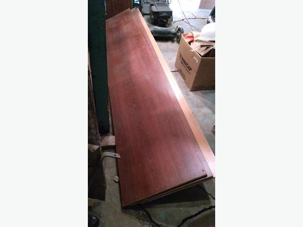 double sided melamined particle board