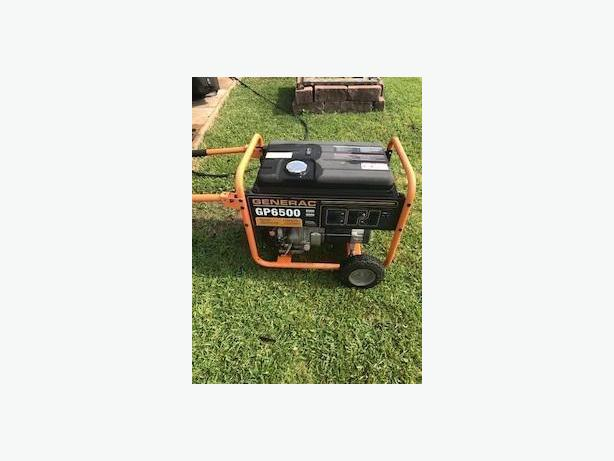 Generac gas generator
