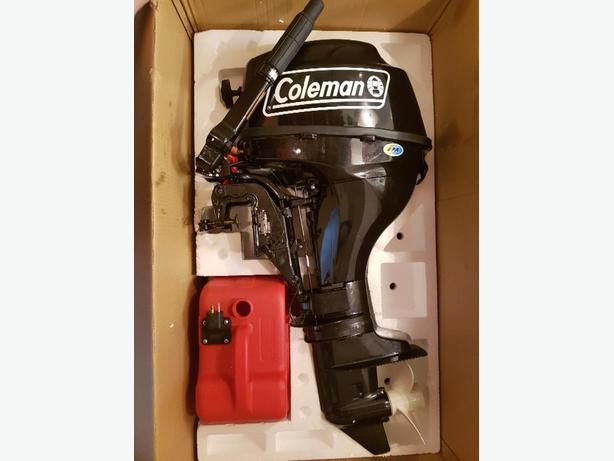 9.8 hp Coleman outboard
