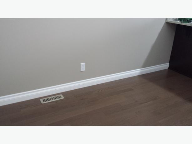 "4"" whits MDF Baseboards"