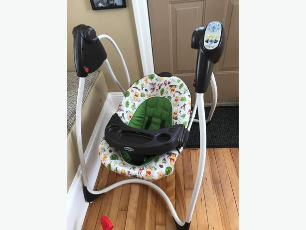 Graco like new swing $25