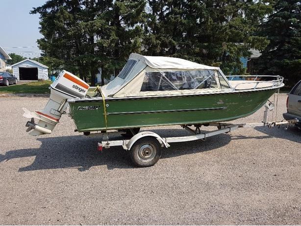 STARCŔAFT 16 FT with trailer - 75HP JOHNSON STINGER