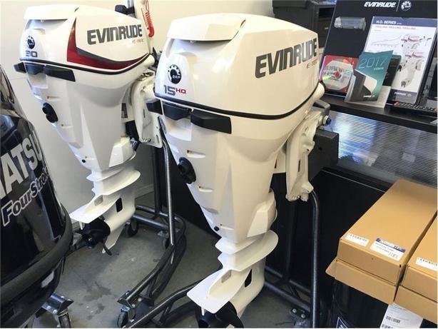 2017 Evinrude E15HPSLAFB -