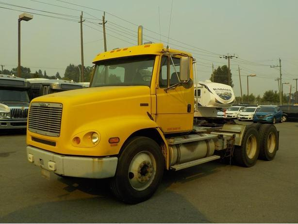 2000 Freightliner FL112 Day Cab Highway Tractor with Air Brakes