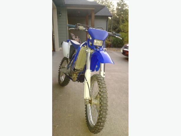 2003 Yamaha WR 450F $3000 OBO