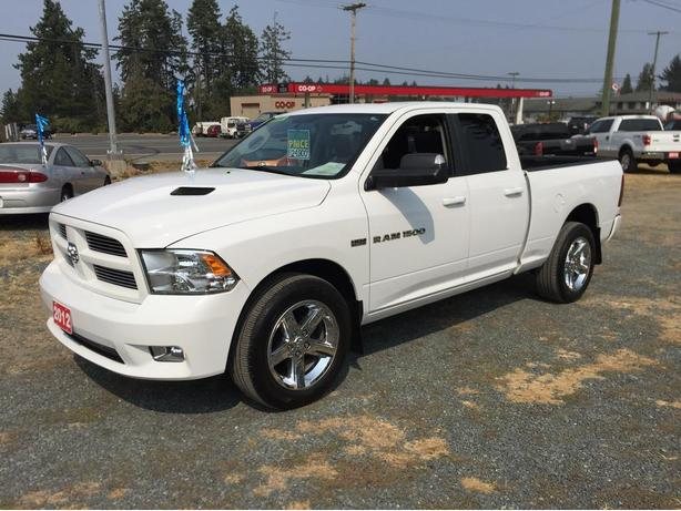 Weekend Special, 2012 Ram 1500 Sport Quad Cab 4WD, 5.7L HEMI 390 HP, One Owner!