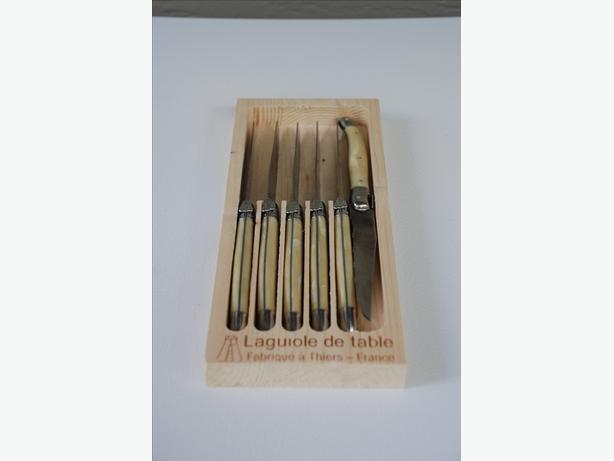 Steak Knives (hand-made Laguiole 6-piece set from France)