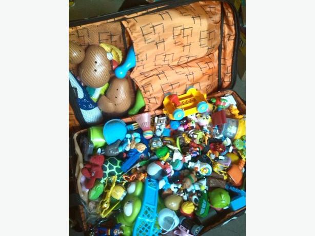 A LOT of TOYS for Kids Suit Case Full