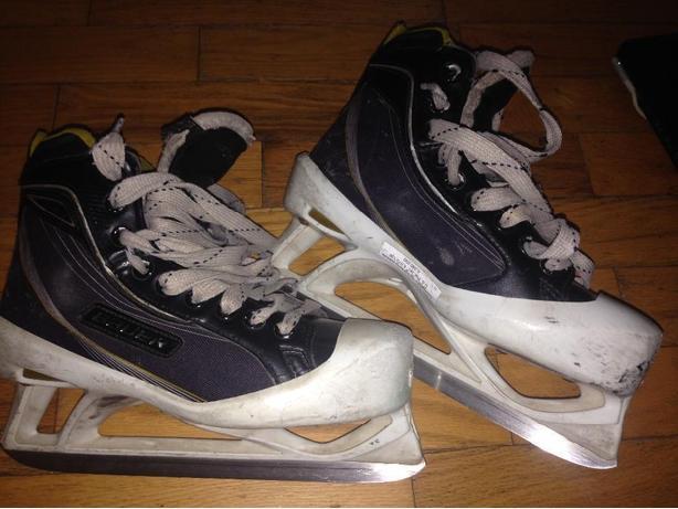 bauer one60 goalie skates size 5.5