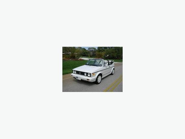 1991 VW Cabriolet Karann