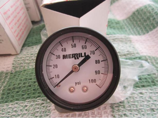 Merrill pressure gauge