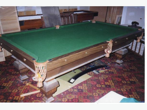 1890 Brunswick pool table