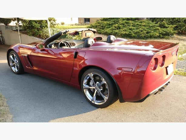 2011 Corvette Grand Sport 3LT Convertible Crystal Red MINT LIKE NEW
