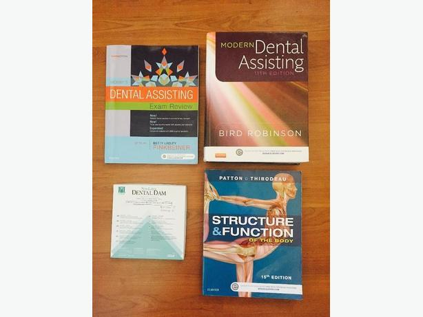 Dental Assisting work books by