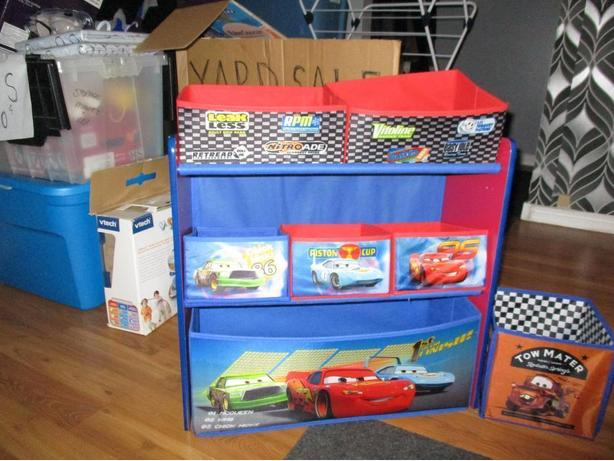 FREE: Lightening McQueen Storage shelf