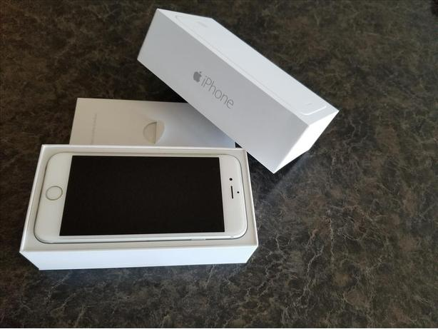 Apple Iphone 6 64GB Silver, SaskTel