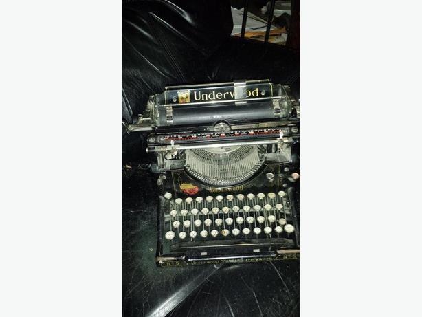Underwood #5 typewritter