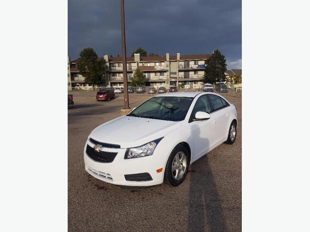 low km 2013 chevy cruze 1.4L turbo