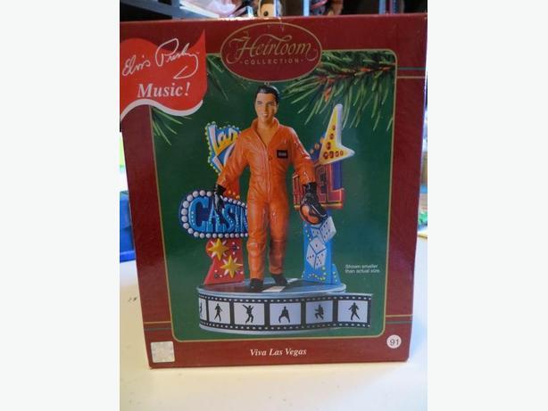 Elvis Presley Viva Las Vegas Musical Christmas Ornament
