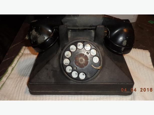 Two Old Phones 40.00 for pair