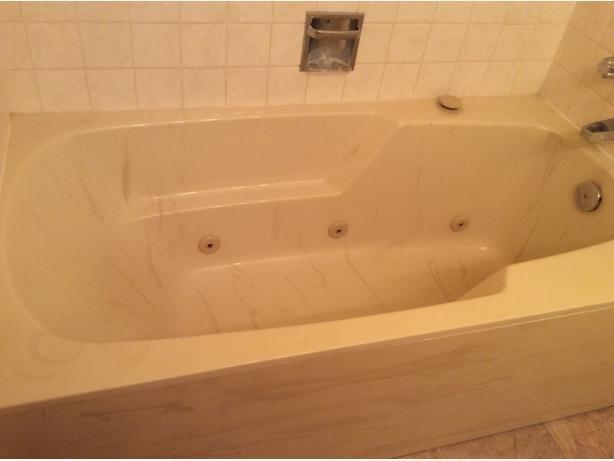 Jacuzzi marble tub