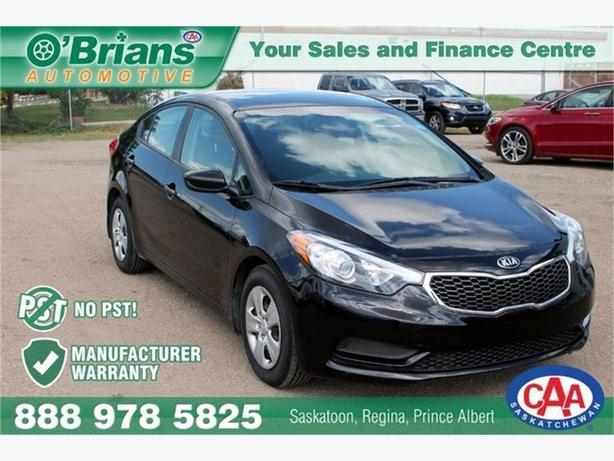 2016 Kia Forte LX - No PST! w/Mfg Warranty