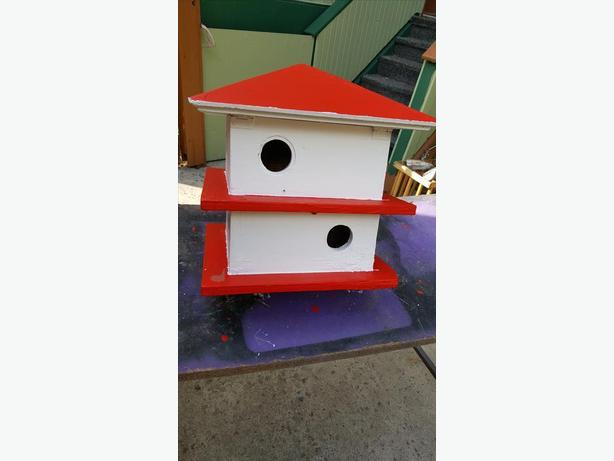 Purple Martin - 8 House - Bird House with Fold Down Steel Pole t