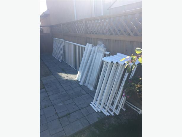 New Aluminum Deck Railing