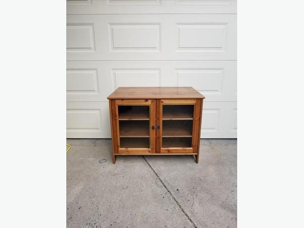 Solid Pine TV Stand or Cabinet